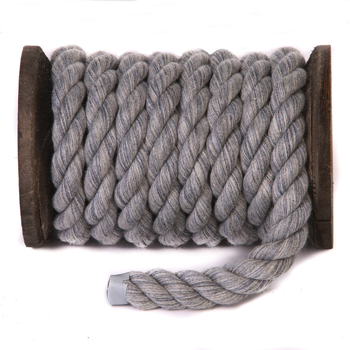 Twisted Cotton Rope (Grey)