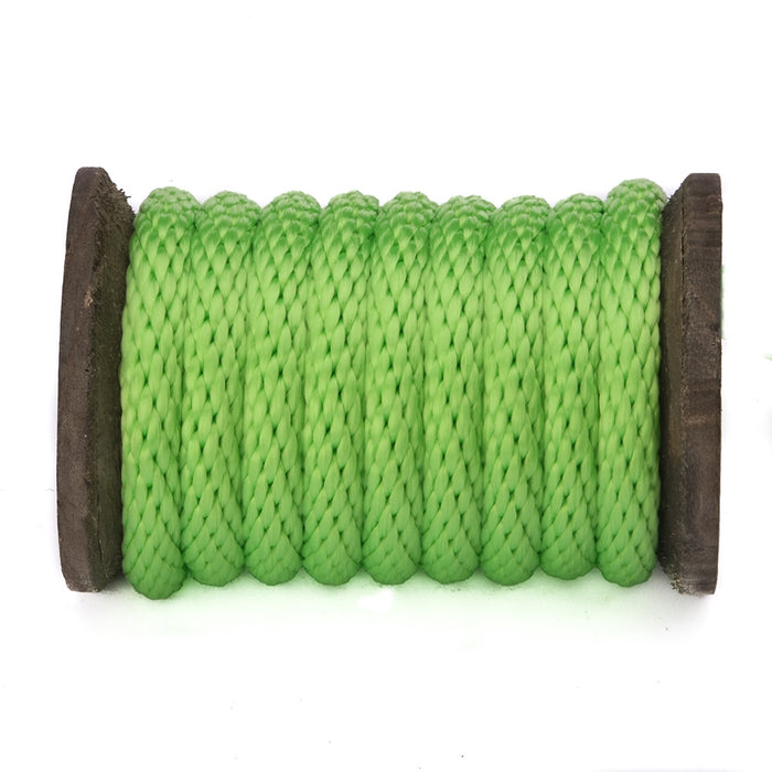 Solid Braid MFP Derby Utility Rope (Lime)
