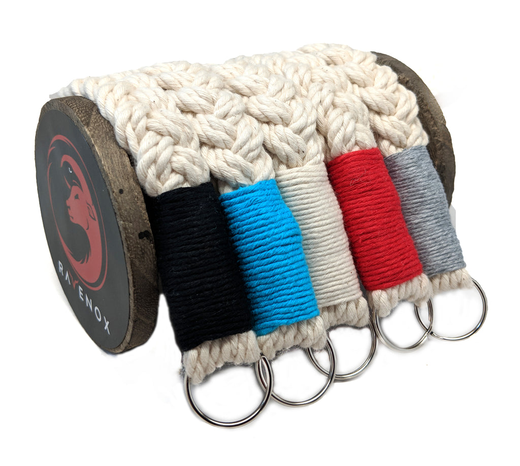 Handmade Cotton Twine Nautical Woven Lanyards