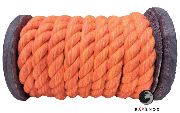 Twisted Cotton Rope (Orange)