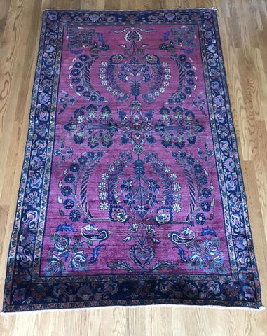 """Kami"" 4'2""x7'2"" Antique NW Persian"