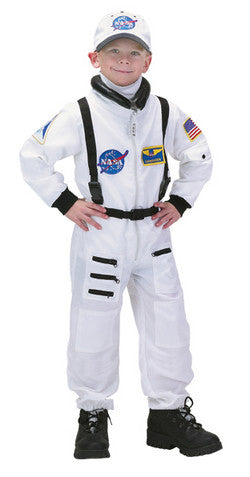 Jr. Astronaut Suit, White