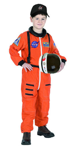 Jr. Astronaut Suit, Orange