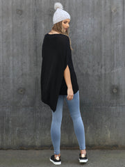 Washington Cape Black Knit REDUCED was $72 now $59