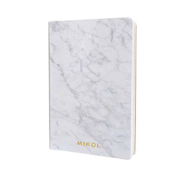 Carrara White Marble Notebook (Back in Stock!) - MIKOL