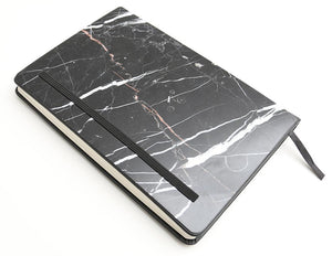 Nero Marquina Marble Notebook (Pocket Size) - MIKOL - 2