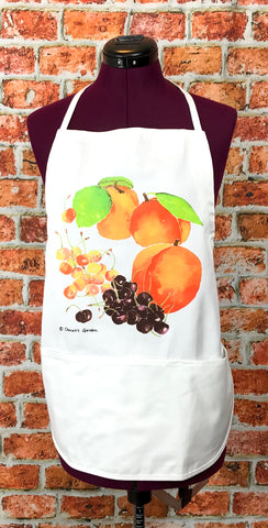 Peaches, Apricot, & Cherries Apron