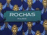 Novelty TIE ROCHAS PARIS Statue Head Virgin Renaissance Silk Men Necktie 22