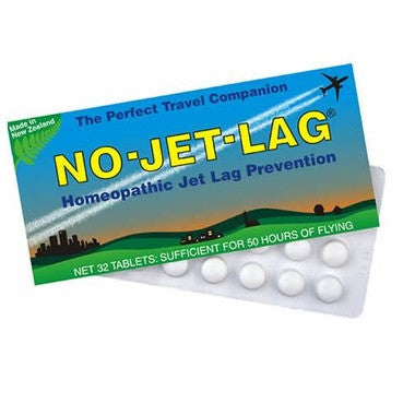 No-Jet-Lag  Homeopathic Jet Lag Prevention 32 Tablets