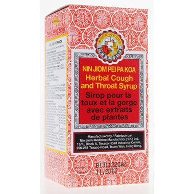 Nin Jiom Pei Pa Koa Cough & Throat Syrup  150 mL