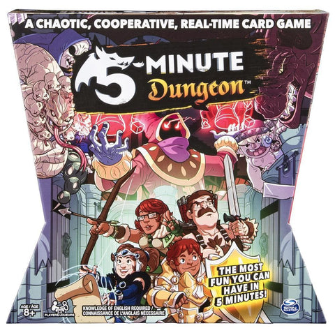 778988692332 5 Minute Dungeon Game Spin Master - Calendar Club1