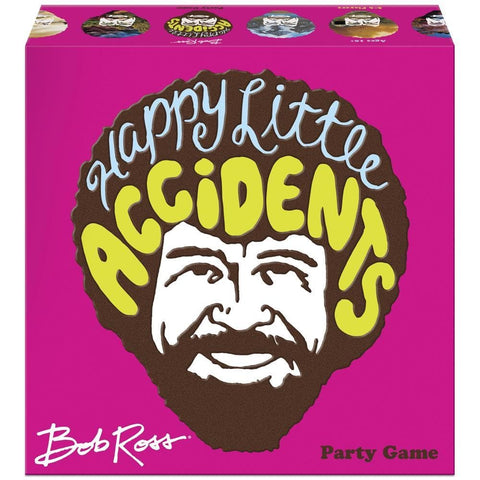 855607007132 Bob Ross Happy Little Accidents Game Big G Creative - Calendar Club1