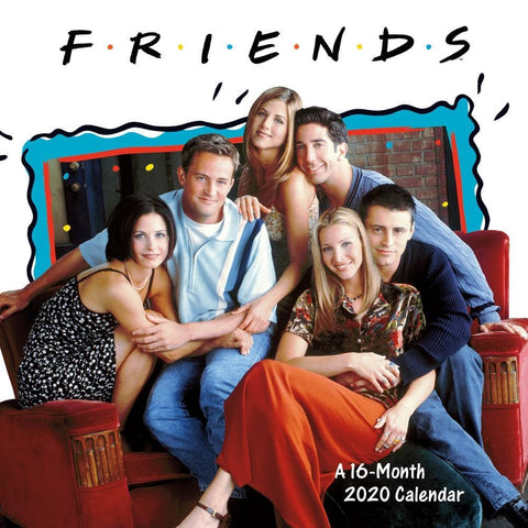 Friends 2020 Wall Calendar Front Cover