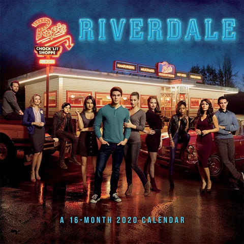 Riverdale 2020 Wall Calendar Front Cover