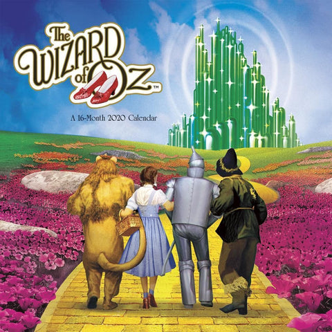Wizard of Oz 2020 Wall Calendar Front Cover
