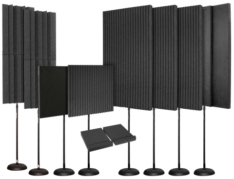 Auralex EditMAX Portable Acoustic Foam Kit for Editing & Mixing