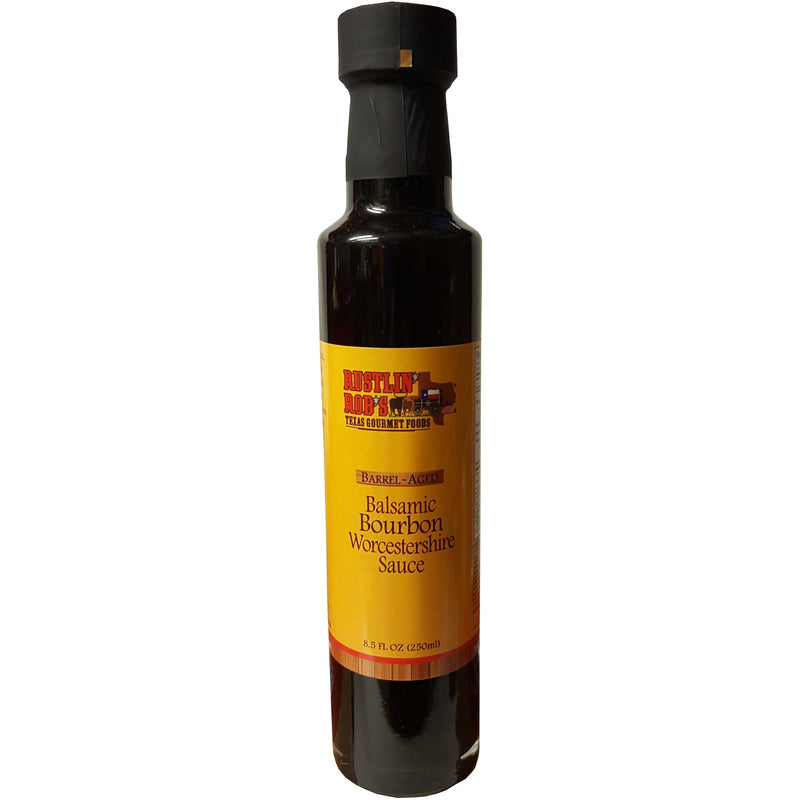 Rustlin' Rob's Balsamic Bourbon Worcestershire Sauce 8.5oz