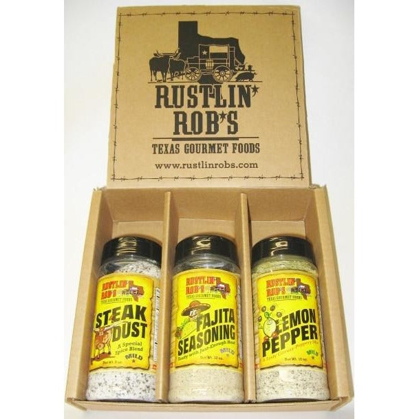 Rustlin' Rob's All Purpose Rub Gift Box