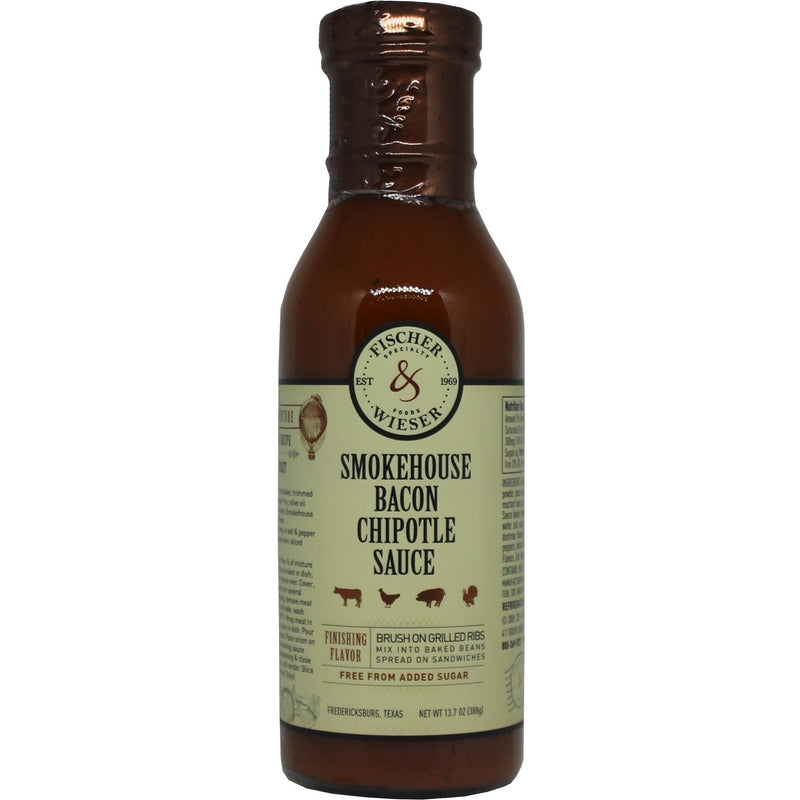 Smokehouse Bacon & Chipotle Grilling Sauce by Fischer & Wieser 13.7oz