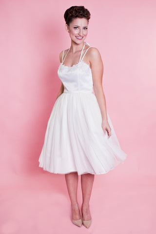 Weddings - Pirouette Dress - Ivory Tulle - Heart of Haute