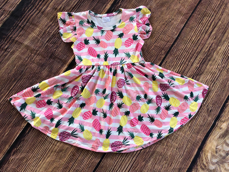 PINEAPPLE TWIRL DRESS
