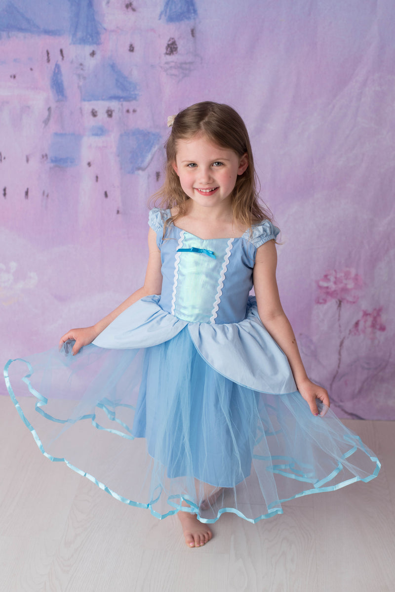 PRINCESS COLLECTION - BLUE DRESS