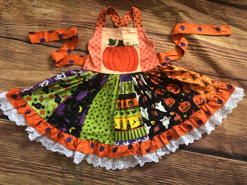 HALLOWEEN TWIRL DRESS