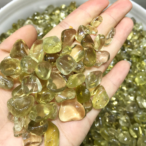 Natural Crystal Topaz citrine 100g