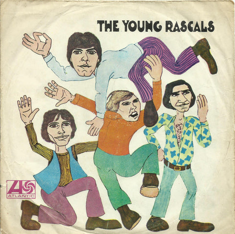 Young Rascals - A girl like you / It's love 45lik 1967