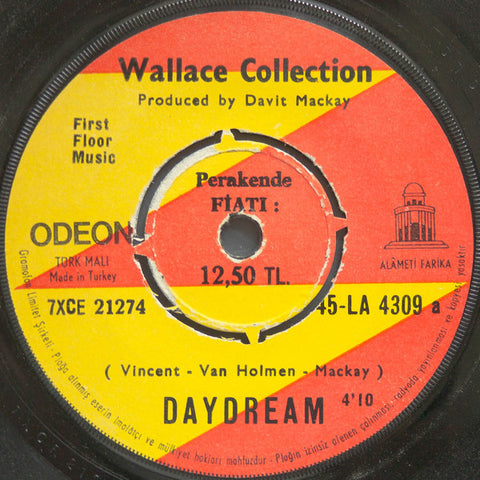 Wallace Collcetion - Daydream / Baby I don't mind 45lik