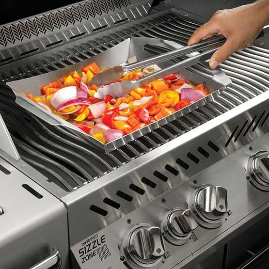 PRO STAINLESS STEEL TOPPER-BBQ STORE MALTA