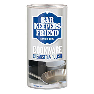 Bar Keepers Friend Cookware Cleanser & Polish 12oz-BBQ STORE MALTA
