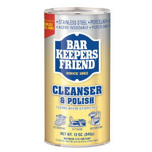 Bar Keepers Friend Cleanser & Polish 12 OZ-Cleaning-BBQ STORE MALTA