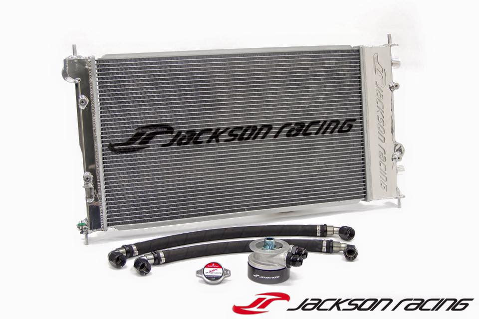 Jackson Racing Dual Radiator/Oil Cooler-FRS/BRZ