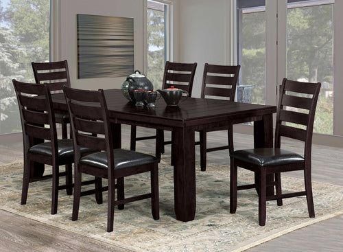 Oakley 7PC Dining Set - Espresso