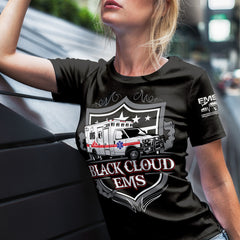 Image of Black Cloud EMS Short-Sleeve Unisex T-Shirt