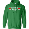 Image of Flight Nurse EMS Wings Heavyweight Pullover Hoodie 8 oz