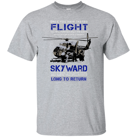 Once You Taste Flight Gildan Ultra Cotton Unisex T-Shirt