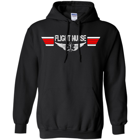 Flight Nurse EMS Wings Heavyweight Pullover Hoodie 8 oz