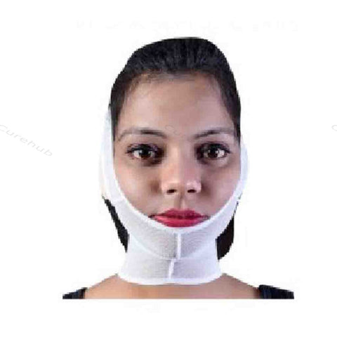 Serehabilitation Chin Strap With Collar With Imported Thin Fabric