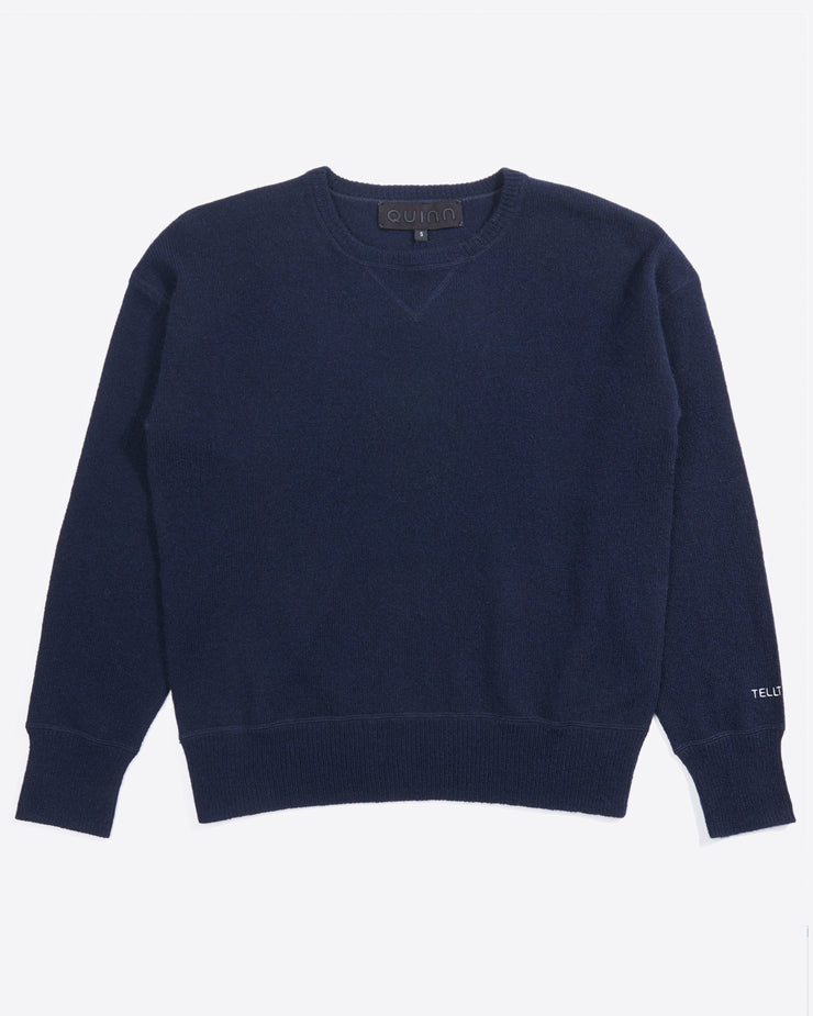 Personalized Cashmere Crewneck