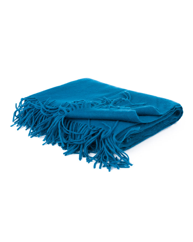 cashmere tassel throw