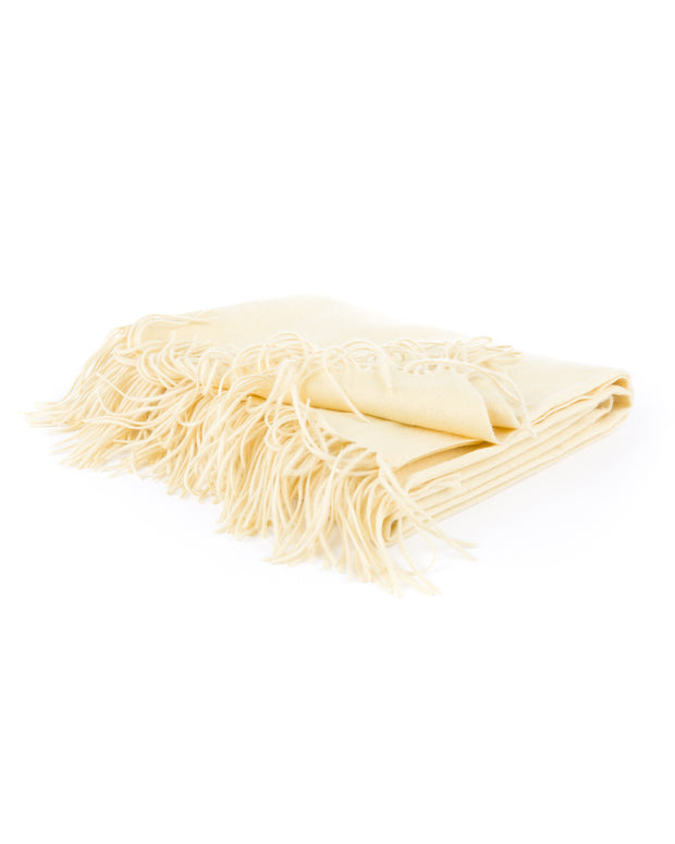 cashmere solid throw