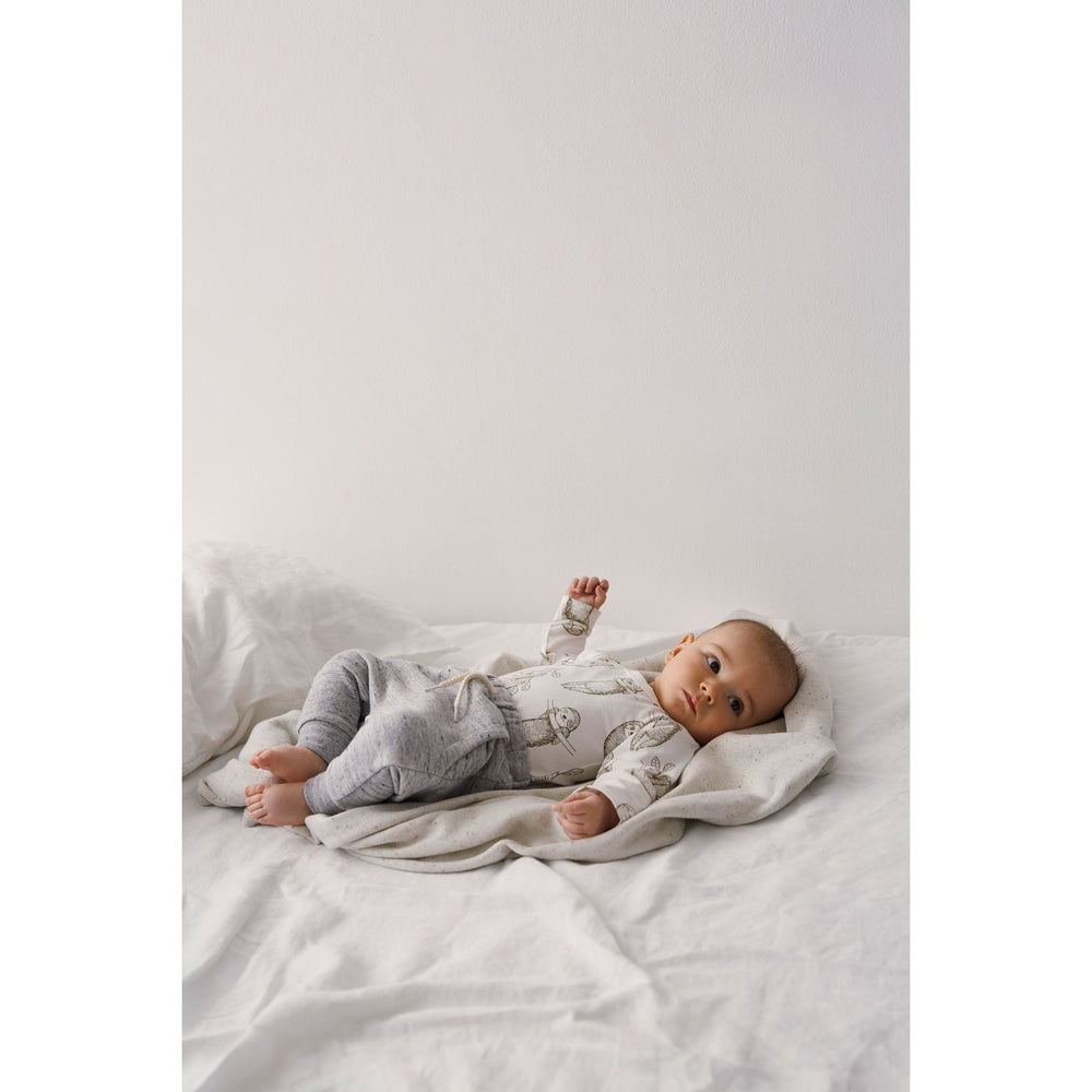 Wilson & Frenchy | Organic Baby Sloth Long Sleeve Bodysuit