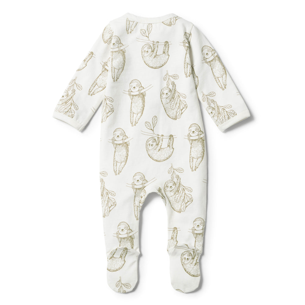 Wilson & Frenchy | Organic Baby Sloth Zipsuit