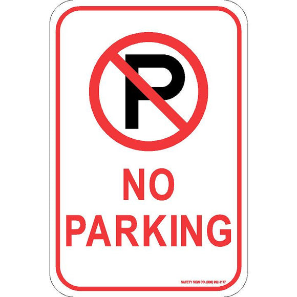 (NO PARKING GRAPHIC) NO PARKING SIGN