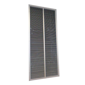 A picture of the lobby vent damper and grille 1.0m2 free area