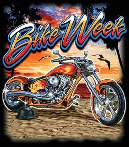 Bike Week Motorcycle Event Mens Short or Long T Shirt 17167d2
