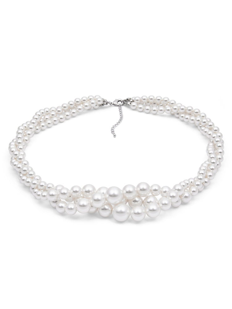 Classic Chunky Pearl Necklace