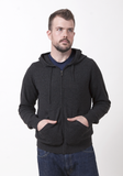 Men's Cashmere Hoody - The Cashmere Shop  - 1